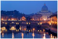 Blaue Stunde in Rom, oder...