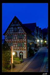 Blaue Stunde in Schiltach...