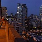 Blaue Stunde in Vancouver