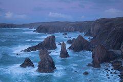 Blaue Stunde Küste