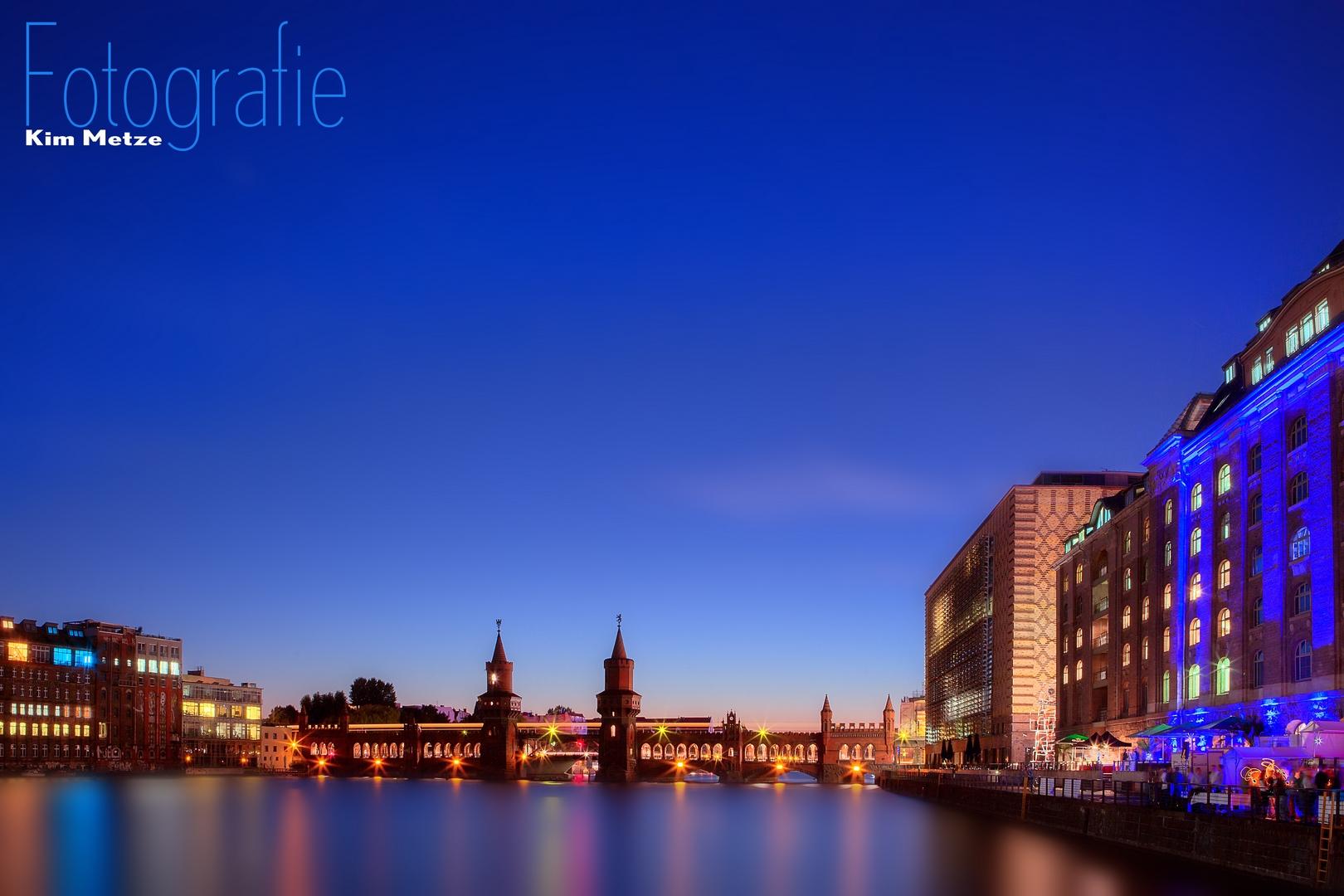 Blaue Stunde | Oberbaumbrücke | 2013