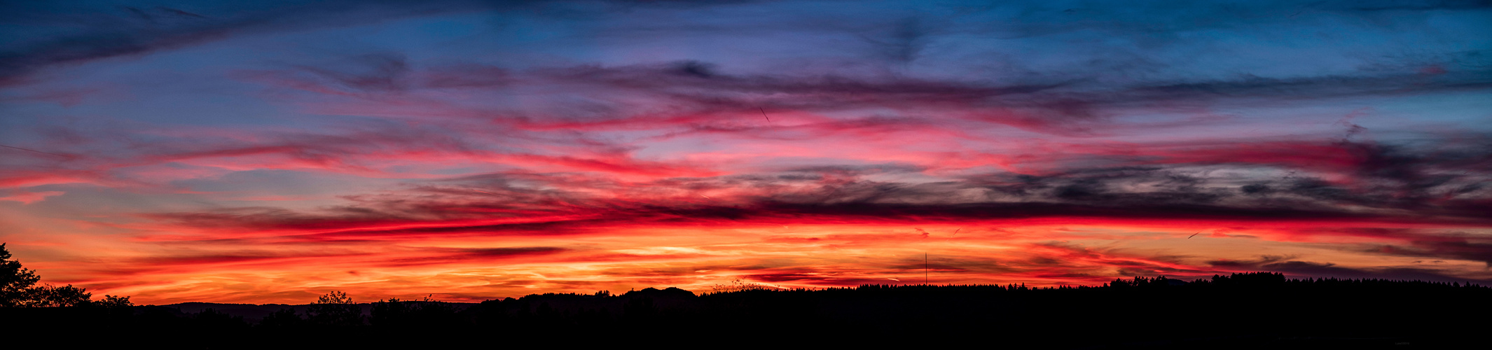 Blaue Stunde Panorama