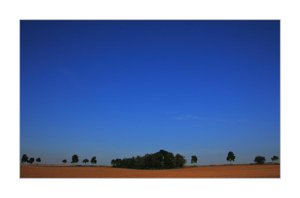 Blaue Stunde - Stunde der Ruhe...