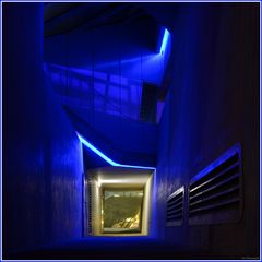 """Blaue Stunde"" unter dem Phaeno"