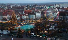 """""""Blaue Stunde"""" - Weihnachtsmarkt Erfurt 2014"""