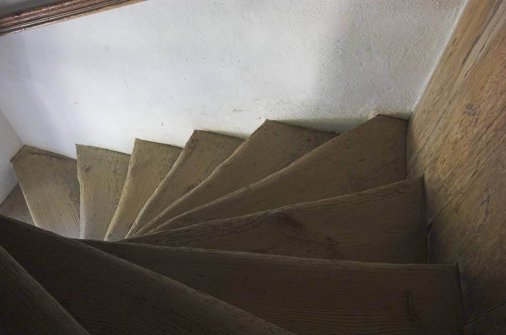 blaue Treppe 3