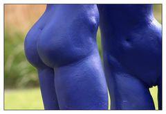 blauer Akt II