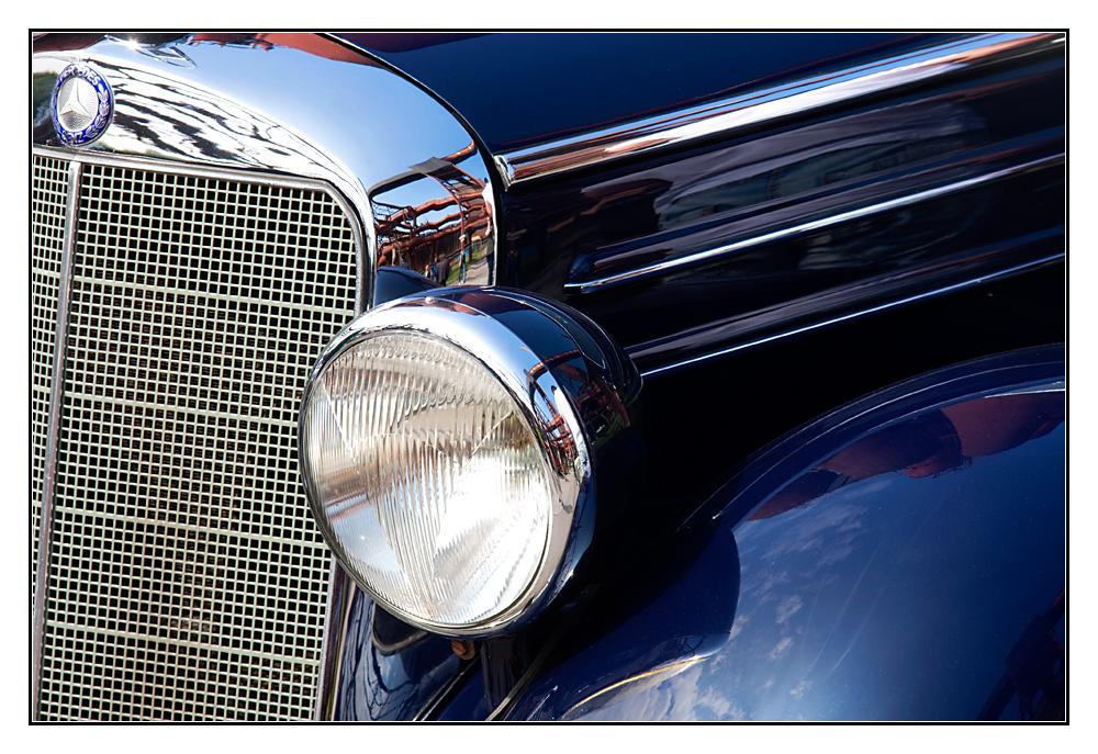 blauer Benz
