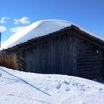 ...blauer Himmel und Pulverschnee...