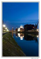blauer Innenhafen