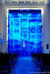 """""""Blauer Kubus"""" - Marktkirche Essen"""