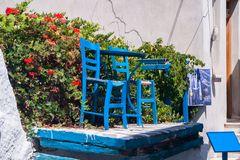 blauer montag - blaue stühle