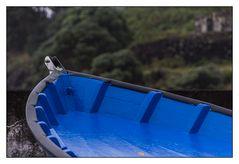 Blaues Boot der Sehnsucht