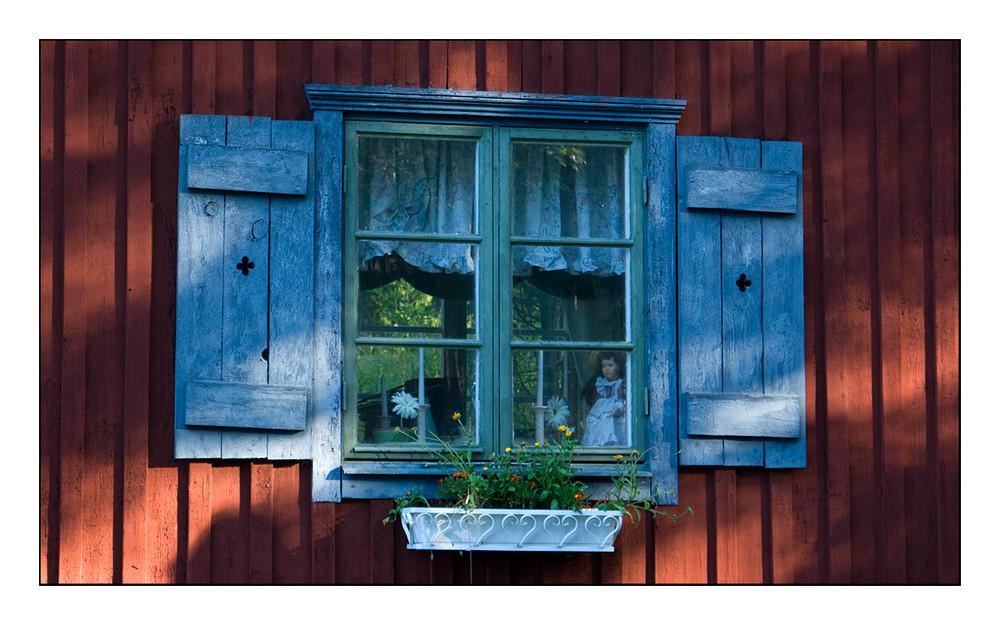 Blaues Fenster 2