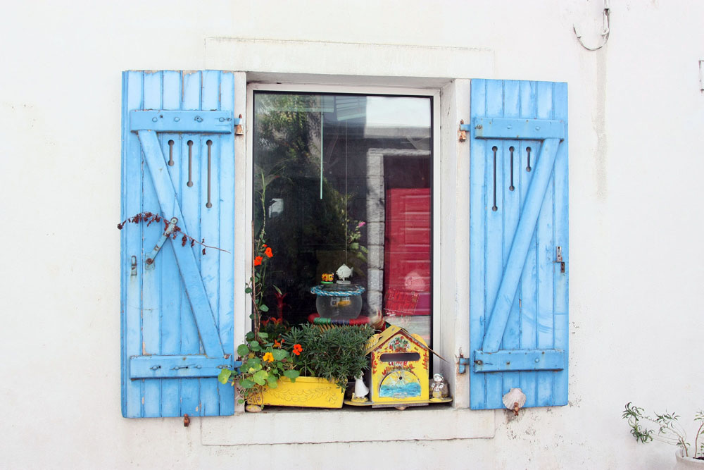 """""""Blaues Fenster"""""""