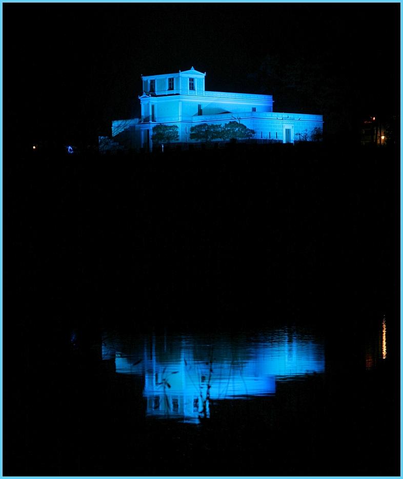 Blaues Licht...