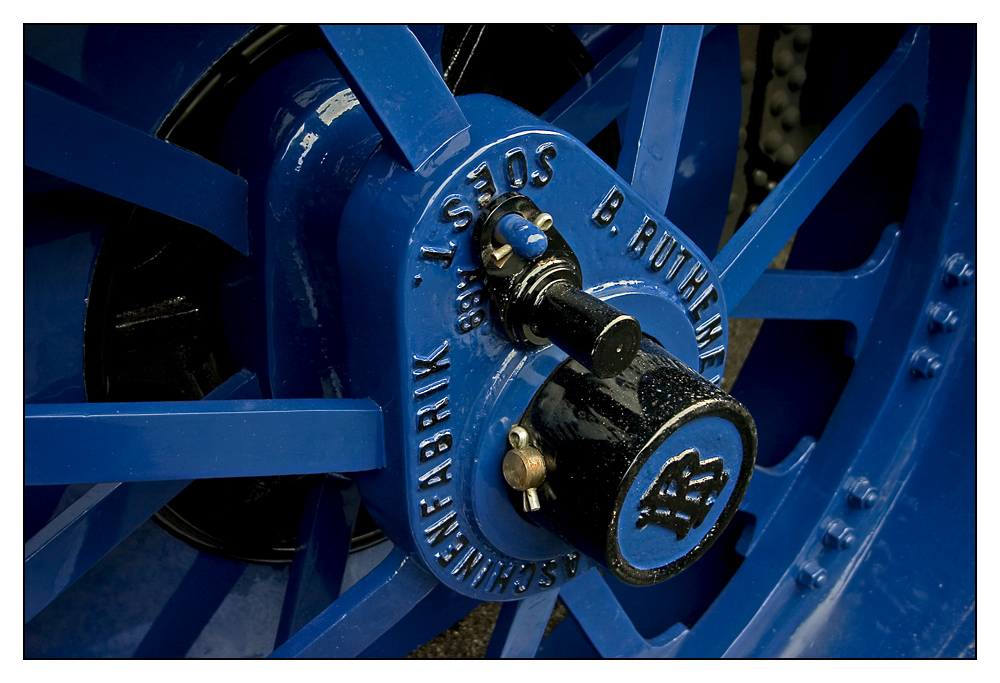 blaues Rad