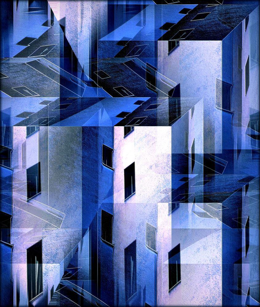 Blaues Städtchen