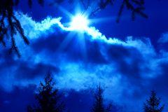Blaues Wetter II