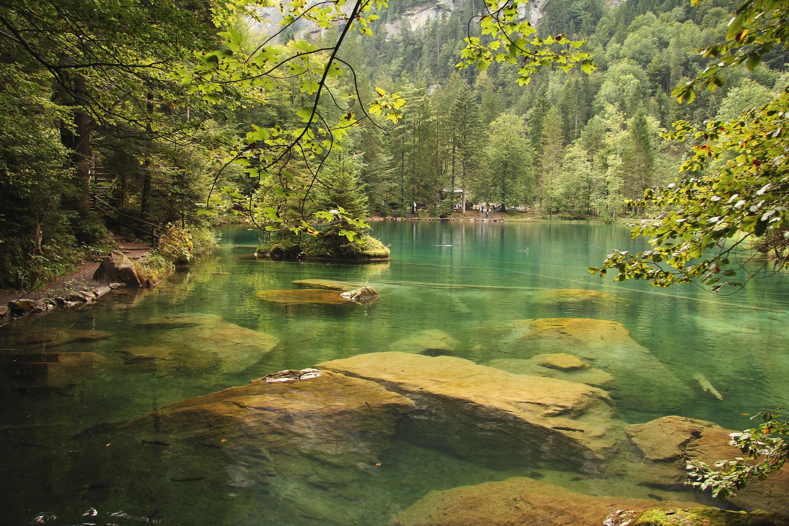 Blausee im Berner Oberland