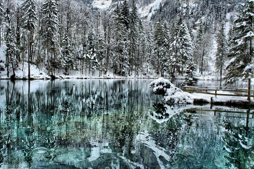 Blausee in der Schweiz 2009