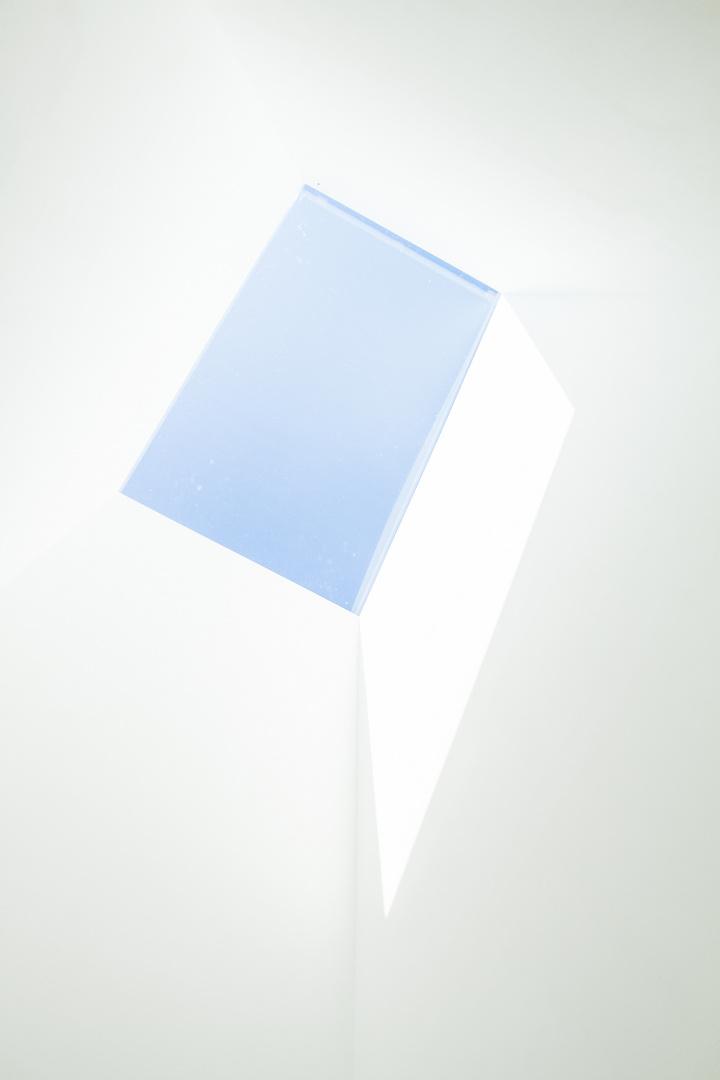 blau/weiß