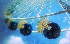 Bleu grande roue