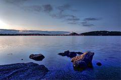 Bleu nuit à Gruissan  ( Aude )