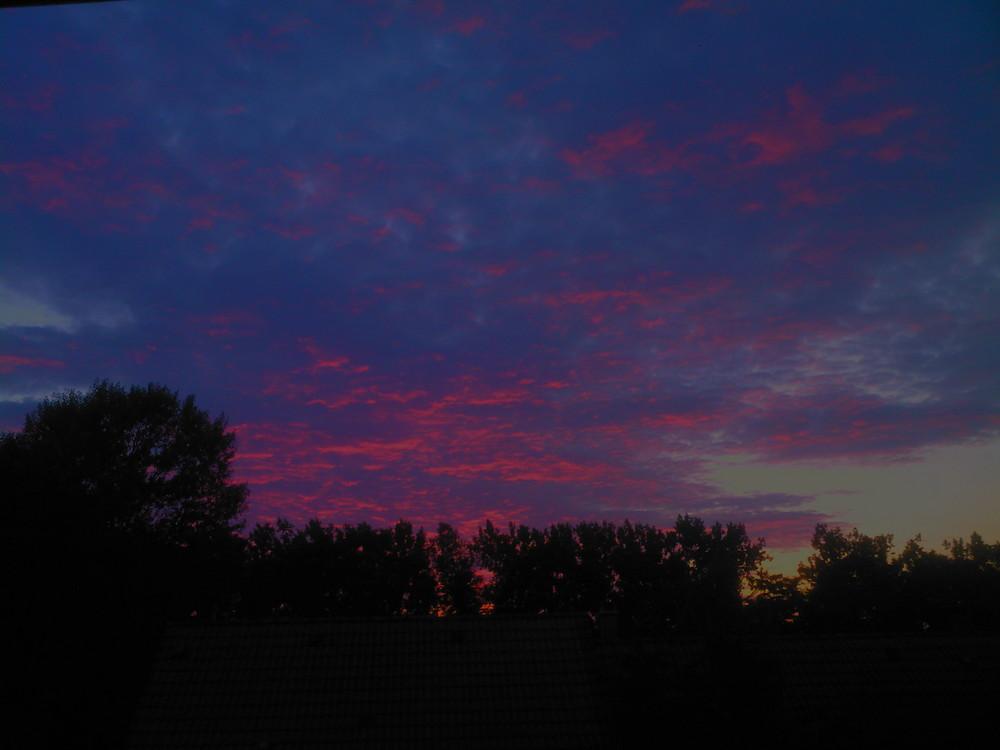 Bleu Rose Violet Photo Et Image Paysages Ciel Nuages Un
