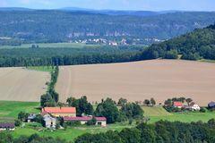 Blick (2) von der Festung Königstein…