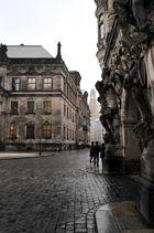 Blick am 24.03.08 auf die Frauenkirche.