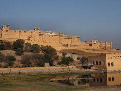 Blick auf Amber Fort