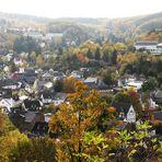 Blick auf  Bad Münstereifel in Richtung Süd-West