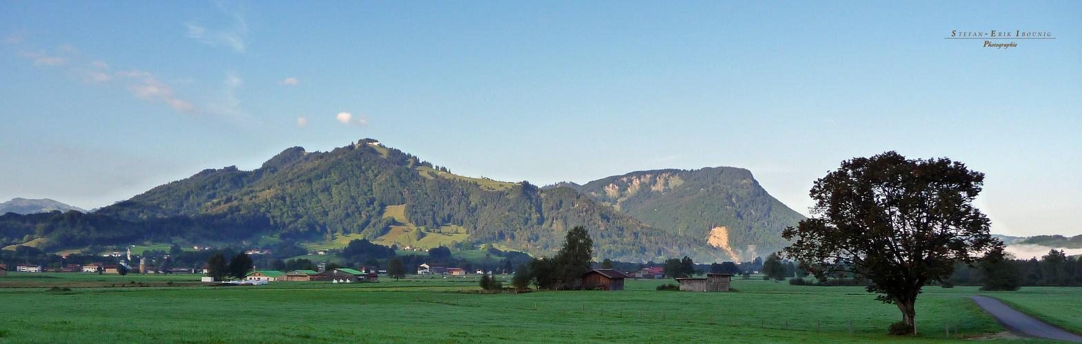"""""""Blick auf Bihlerdorf von Burgberg aus"""""""