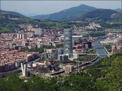 Blick auf Bilbao