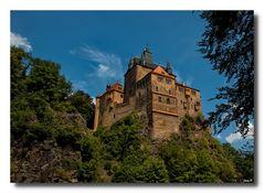 Blick auf Burg Kriebstein