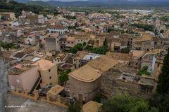 Blick auf CapdePera vom Castell CapdePera