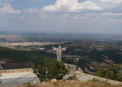 Blick auf Castelo Rodrigo