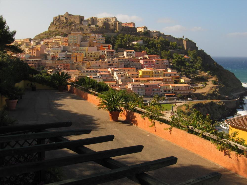 Blick auf Castelsardo