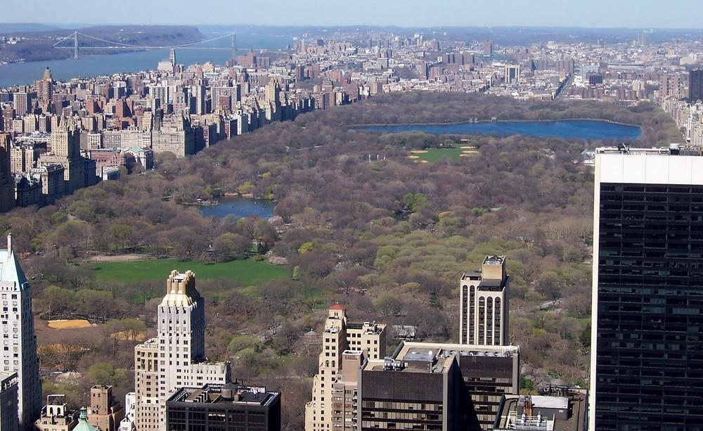 Blick auf Central Park