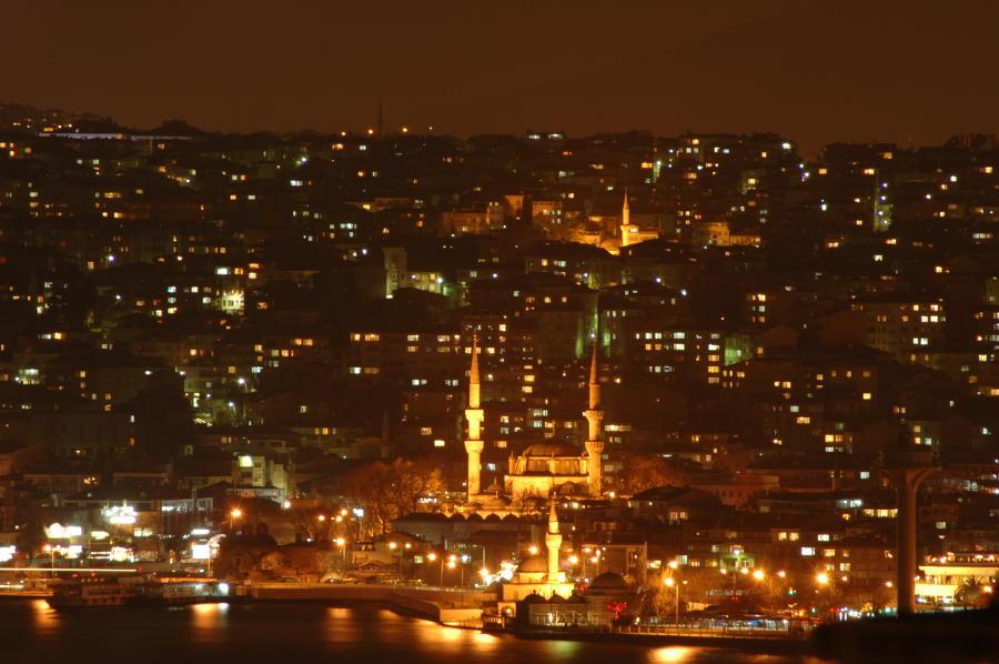 Blick auf das asiatische Ufer Istanbuls