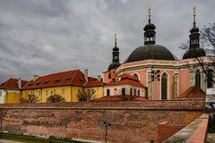 Blick auf das Augustinerkloster