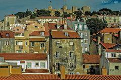 Blick auf das Castelo de São Jorge