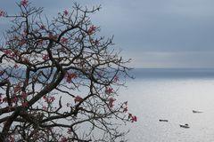 Blick auf das Meer bei Positano