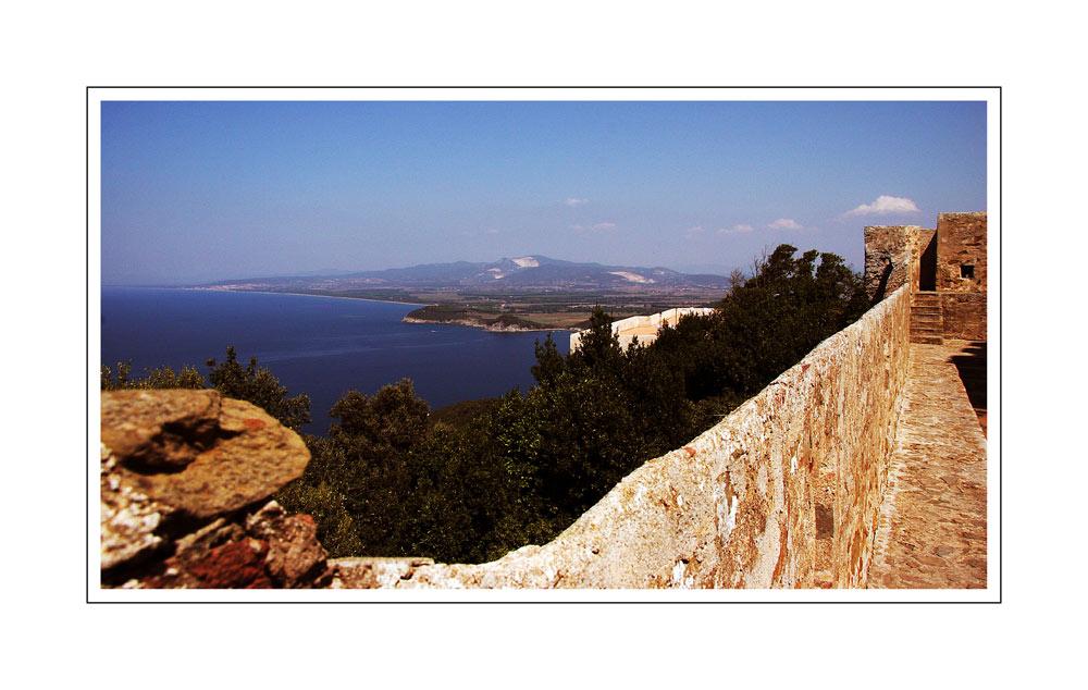 Blick auf das Mittelmeer...