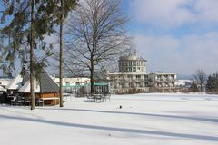 Blick auf das Raitelberg Resort