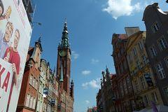 Blick auf das Rathaus...