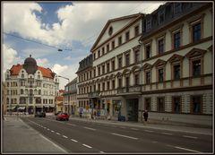 Blick auf das sogenannte Hansahaus