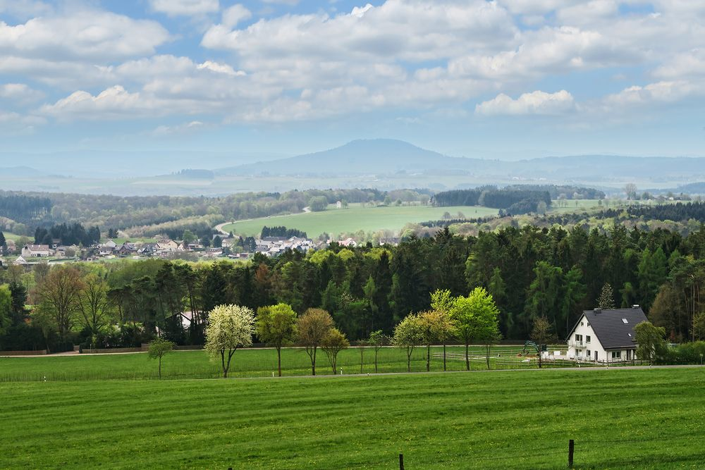 Blick auf den Aremberg vom Michelsberg aus gesehen