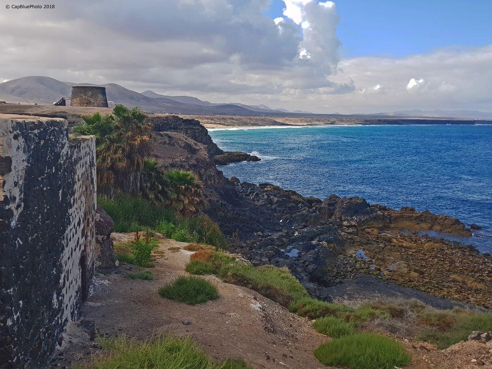 Blick auf den Atlantik in EL Cotillo Fuerteventura